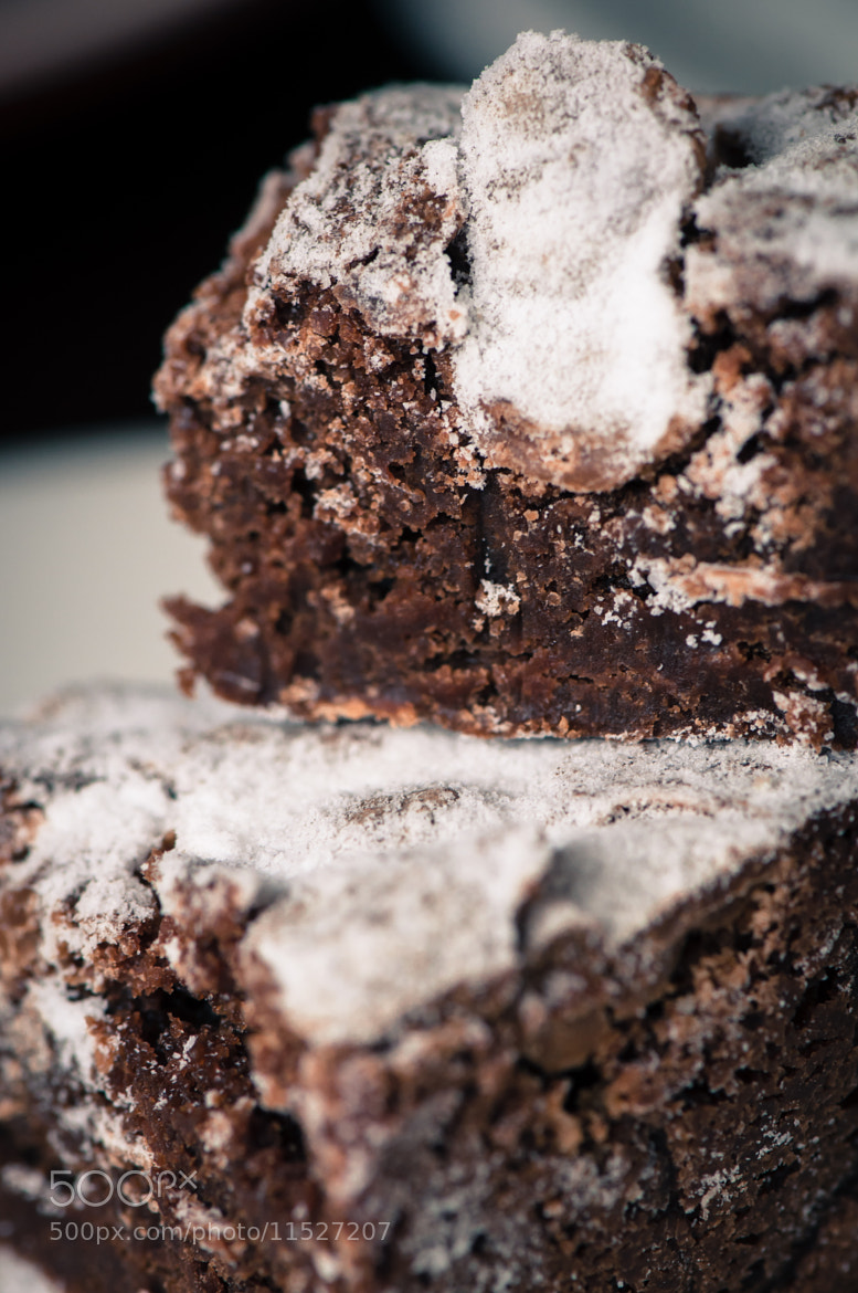 Photograph B for brownies by Inny So on 500px