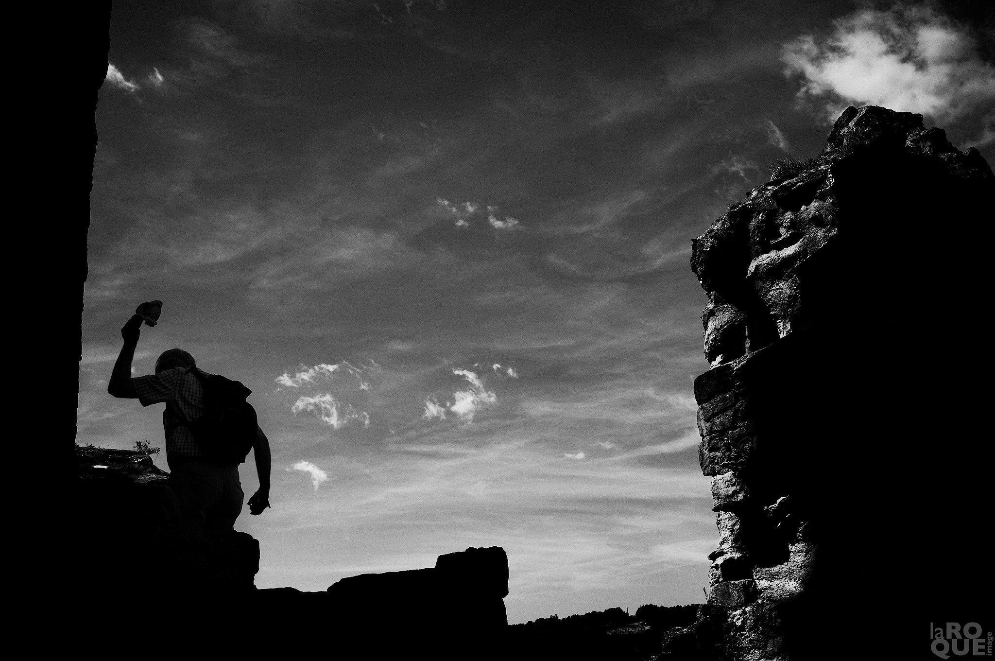Photograph man in ruins by Patrick La Roque on 500px