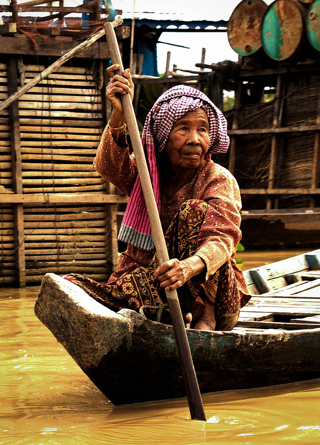 Photograph Tonle Sap by Oleg Gatalo on 500px