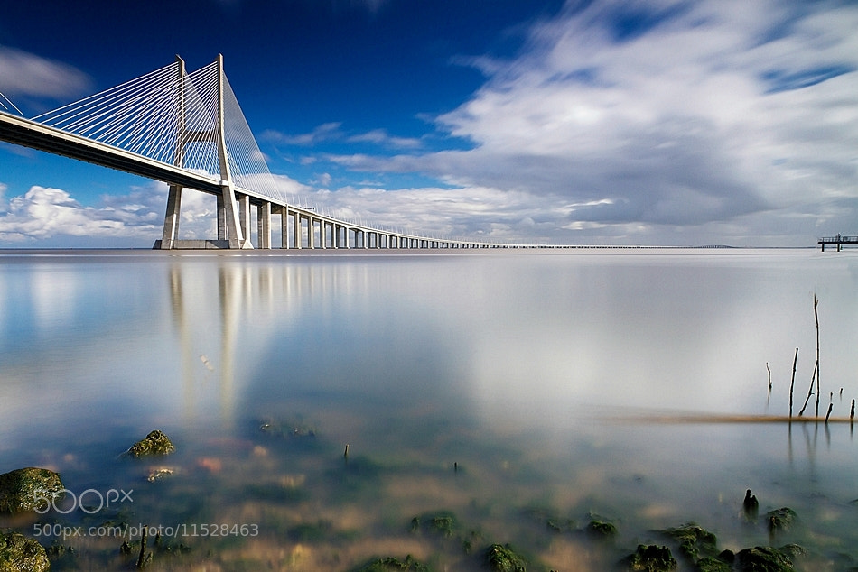 Photograph Ponte Vasco da Gama by António Leão on 500px