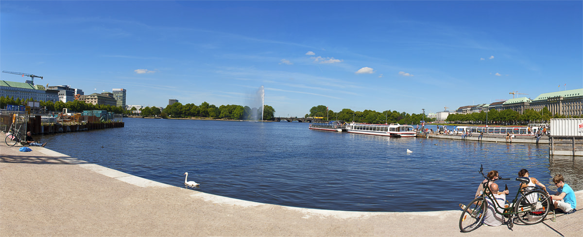 Photograph hamburg - alster by catchy-pixels hamburg   on 500px