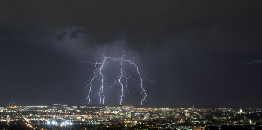 Photograph Lightning Claw by Robert Martin on 500px