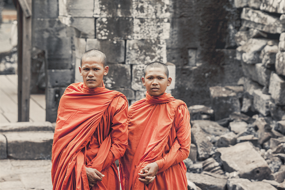 Photograph Monks by Debbie Martin on 500px