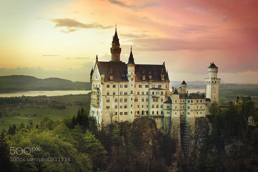 Photograph Neuschwanstein by Svetlana Makrenok on 500px
