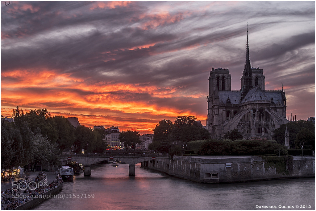Photograph Notre-Dame de Paris #2 by Dominique Quehen on 500px