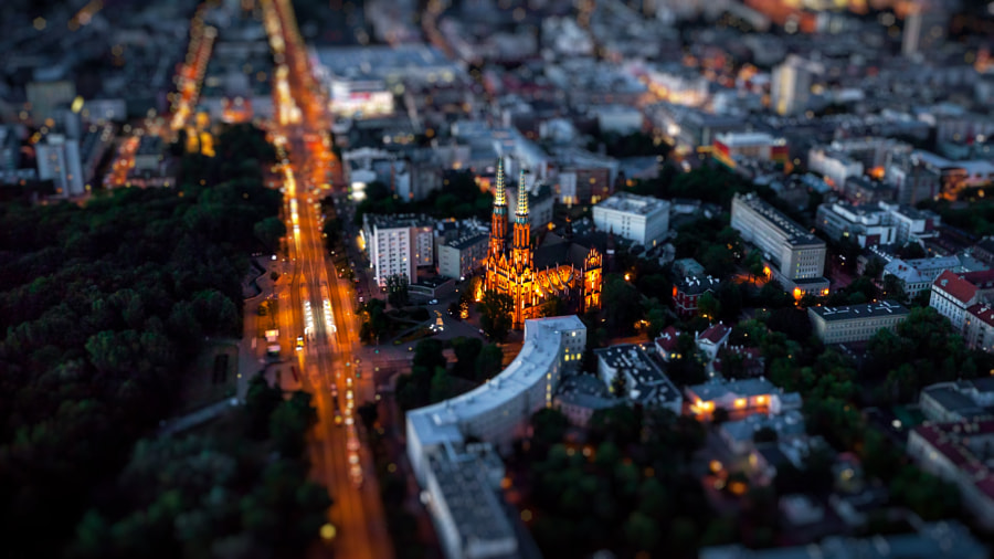 Macro World - Warsaw, Poland - Cathedral by Csaba Szilágyi on 500px.com