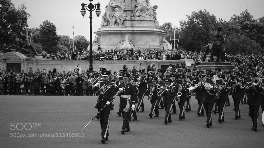 Buckingham's marching band
