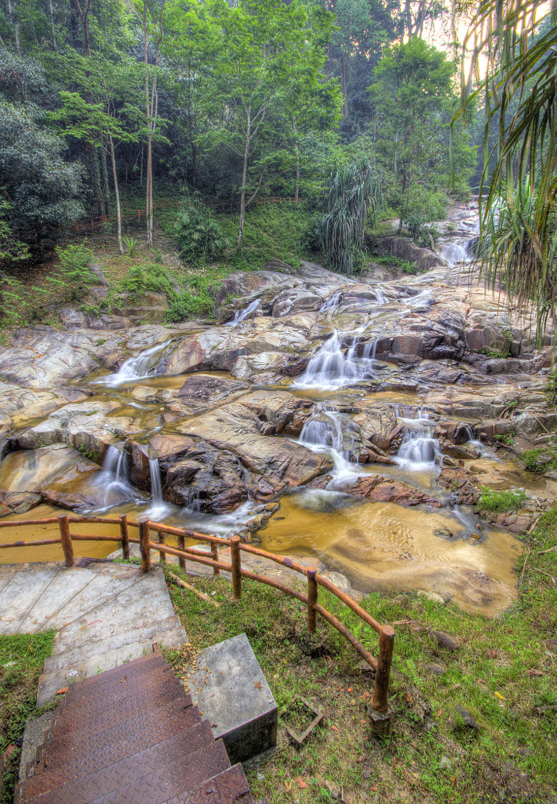 Photograph HDR waterfall by Nur Ain on 500px
