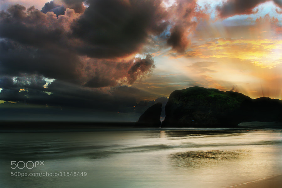 Photograph Kukup Beach by 3 Joko on 500px
