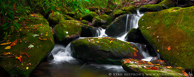 Photograph Autumn Cascades by Ryan Heffron on 500px