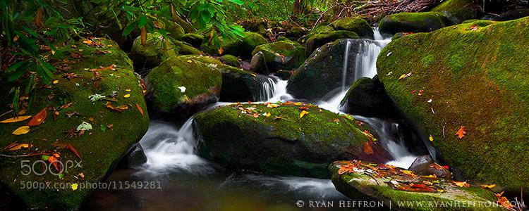 Photograph Autumn Cascades by Ryan Heffron on 500px