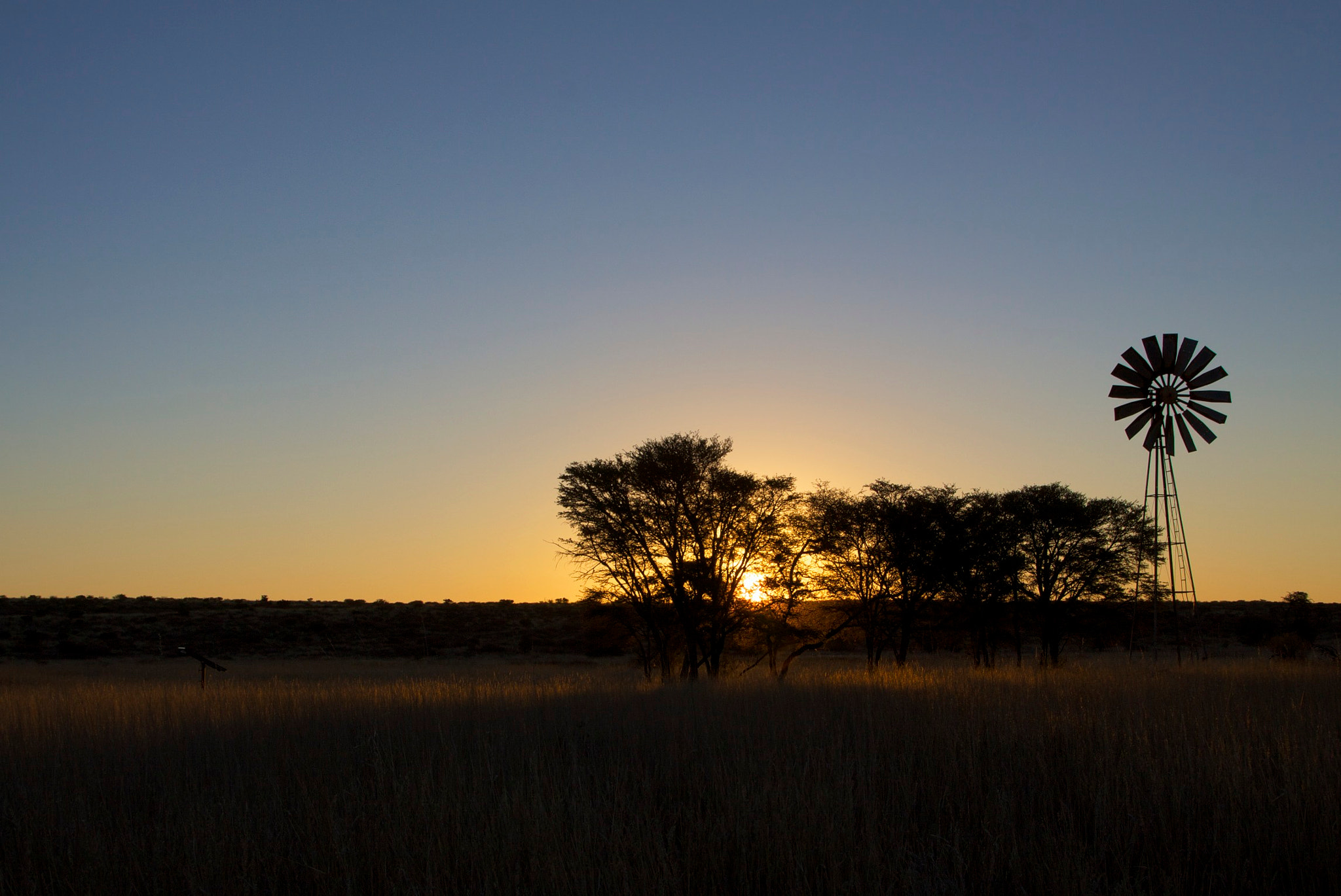 Photograph Kgalagadi sunset by tbza . on 500px