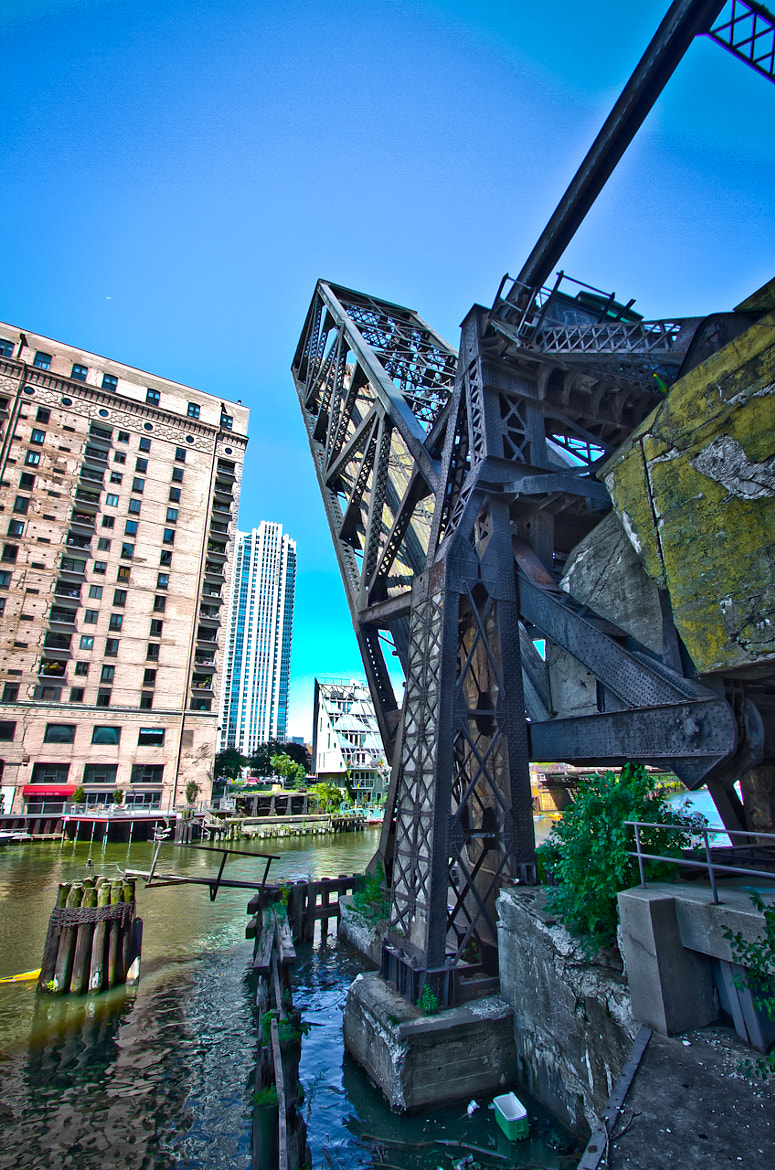 Photograph Chicago River Drawbridge by Brian Buckler on 500px