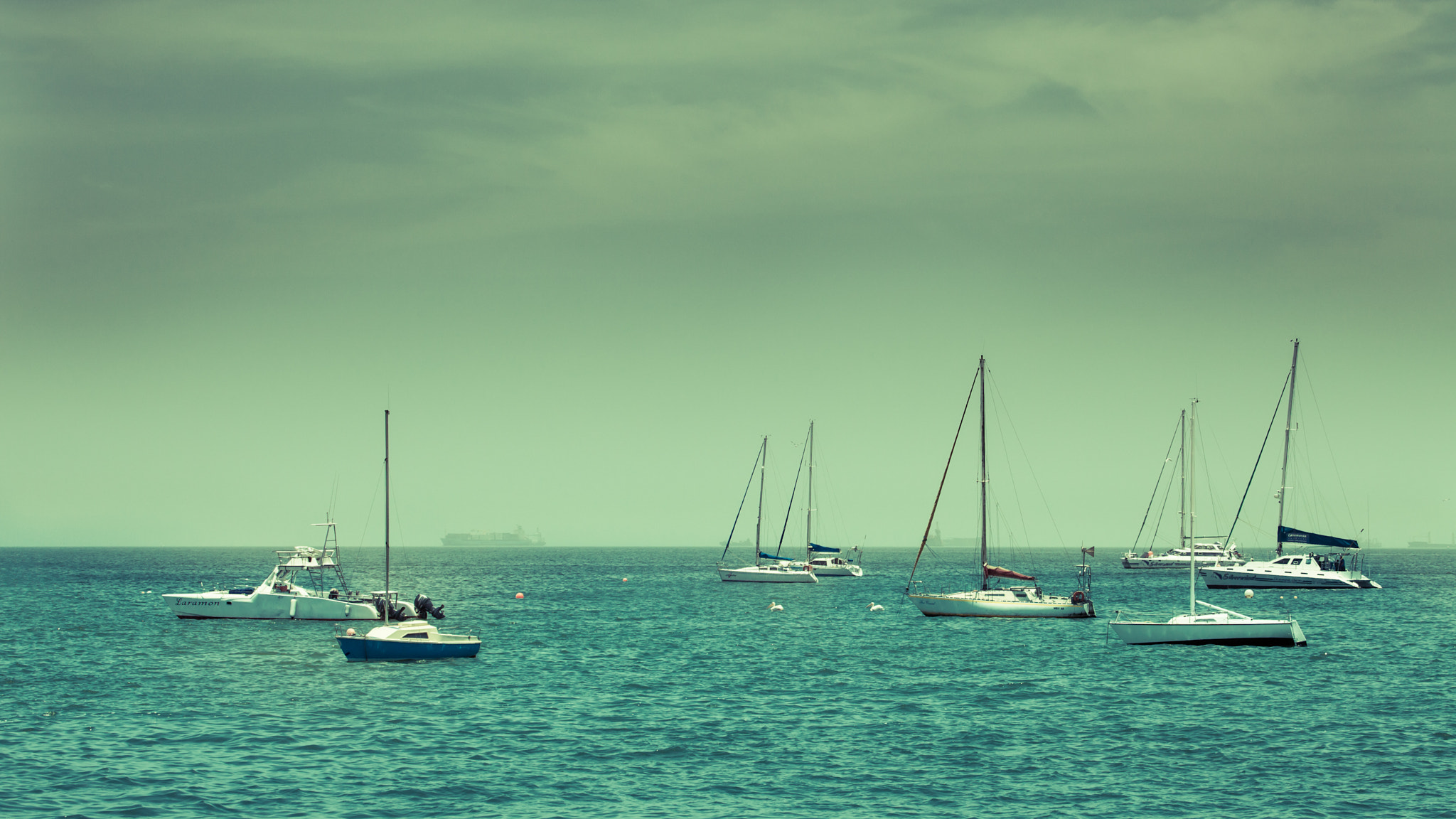 Photograph Yachting at Walvis Baai by Sandeep Thoppil on 500px