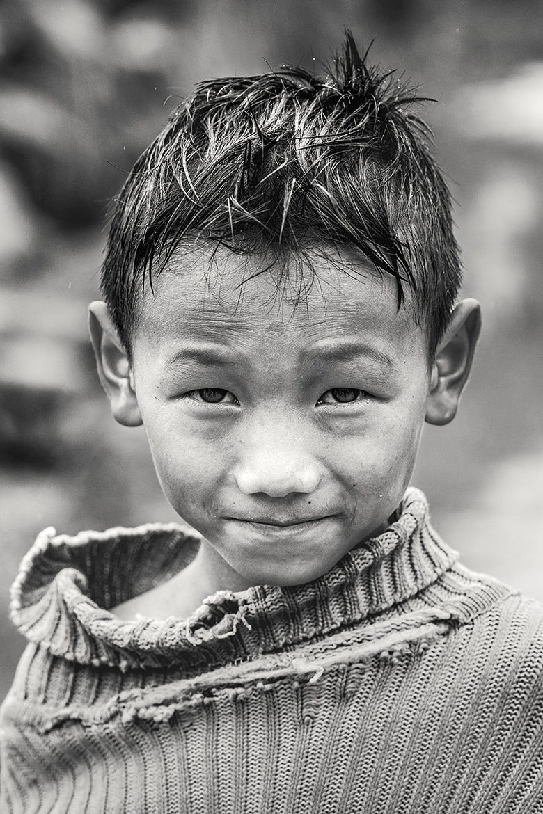 Photograph Cambodian Boy Portrait by Debbie Martin on 500px