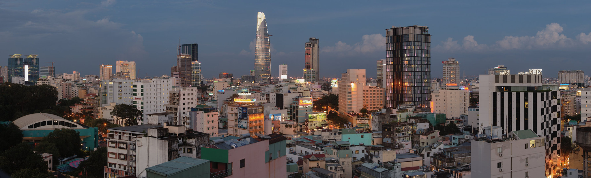 Photograph Saigon Skyline by Seva Gluschenko on 500px