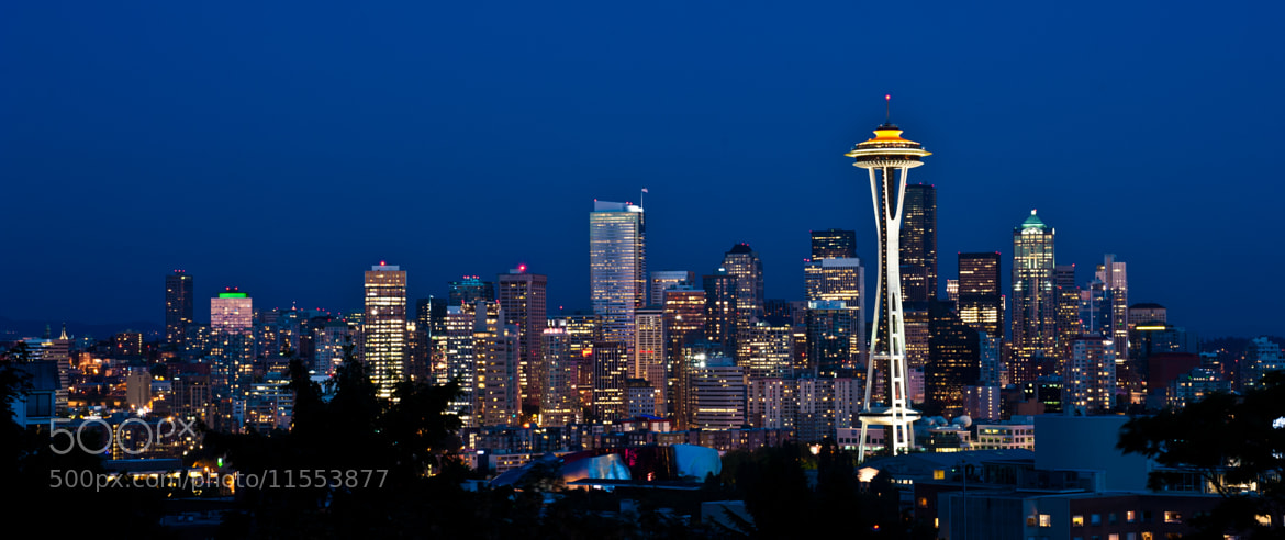 Photograph Seattle Skyline by Wyatt Lam on 500px