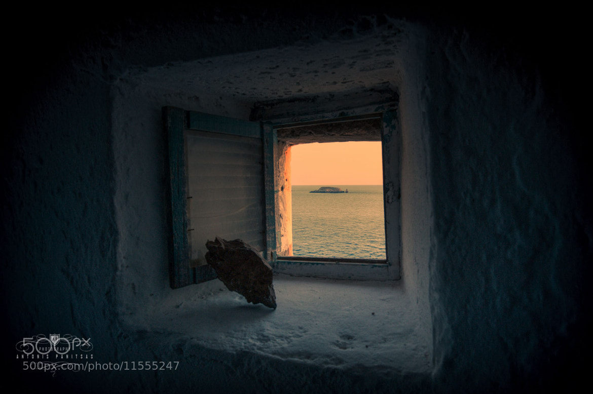 Photograph Small window , great view.. by Antonis Panitsas on 500px