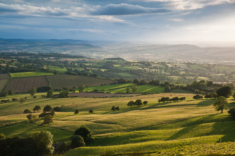 Photograph West from Stoke Enclosure, Shropshire by Edward Fury on 500px