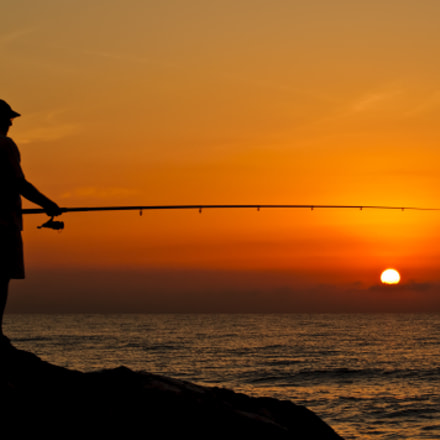 La serenidad de la pesca