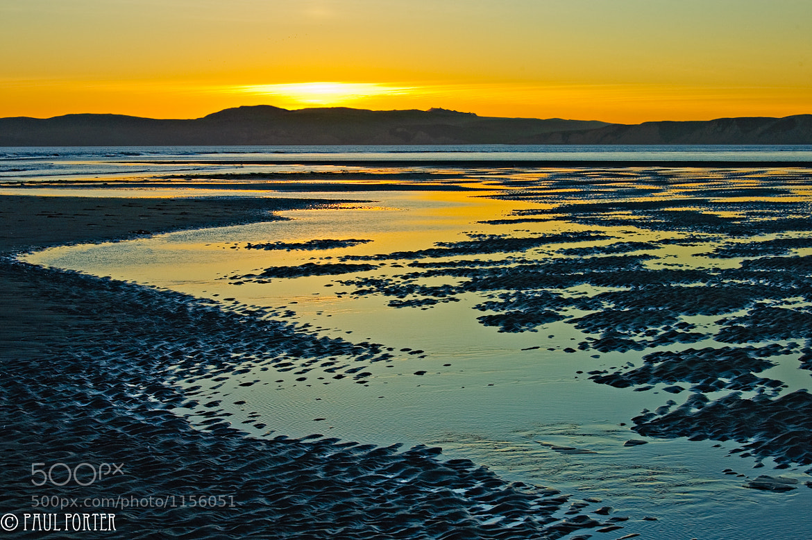 Photograph Sunset, Limantour Spit, Point Reyes by Paul Porter on 500px