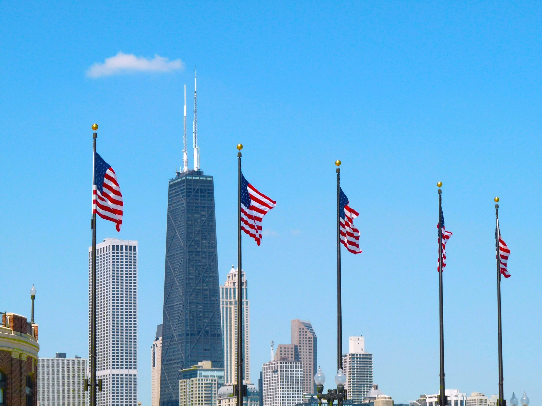 Photograph Flags Across Chicago  by Reid  Plinske on 500px