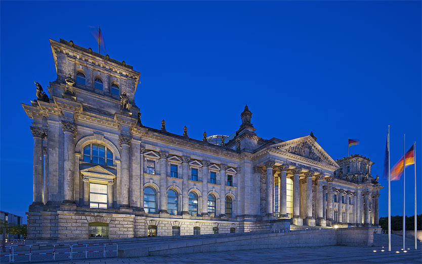 Photograph The Reichstag, Berlin, Germany by Cahir Davitt on 500px