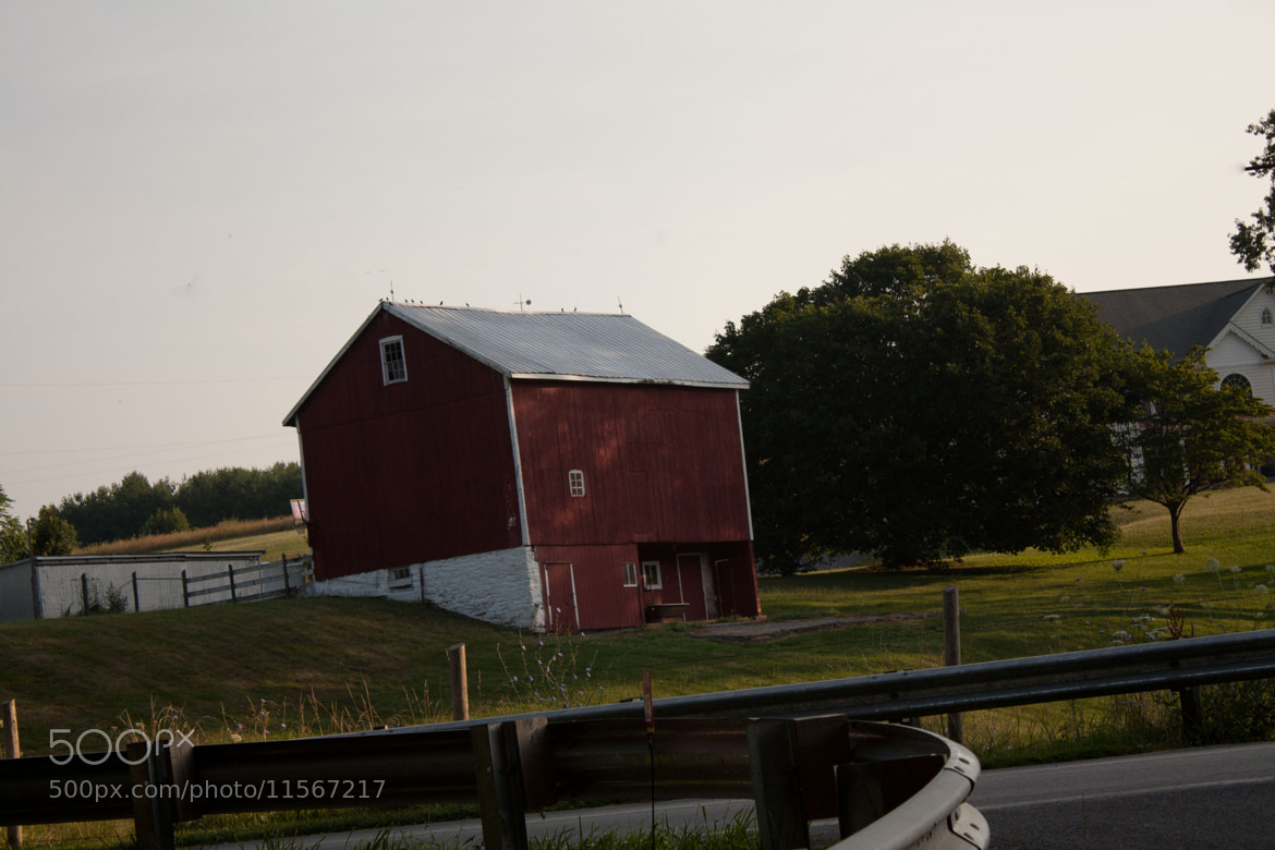 Photograph Red Barn by Stephen Collette on 500px