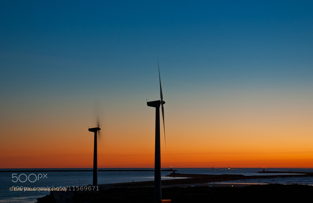 Photograph Pier at sunset by Erik Visser on 500px