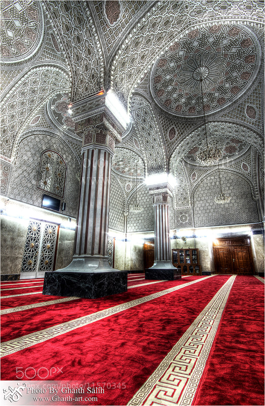 Photograph Mosque of Sheikh Abu Hanifa in Baghdad by Ghaith Salih on 500px