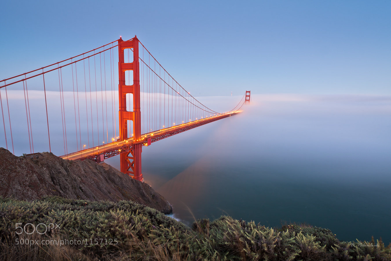 Photograph Golden Gate Bridge - San Francisco - CA by Dominique  Palombieri on 500px