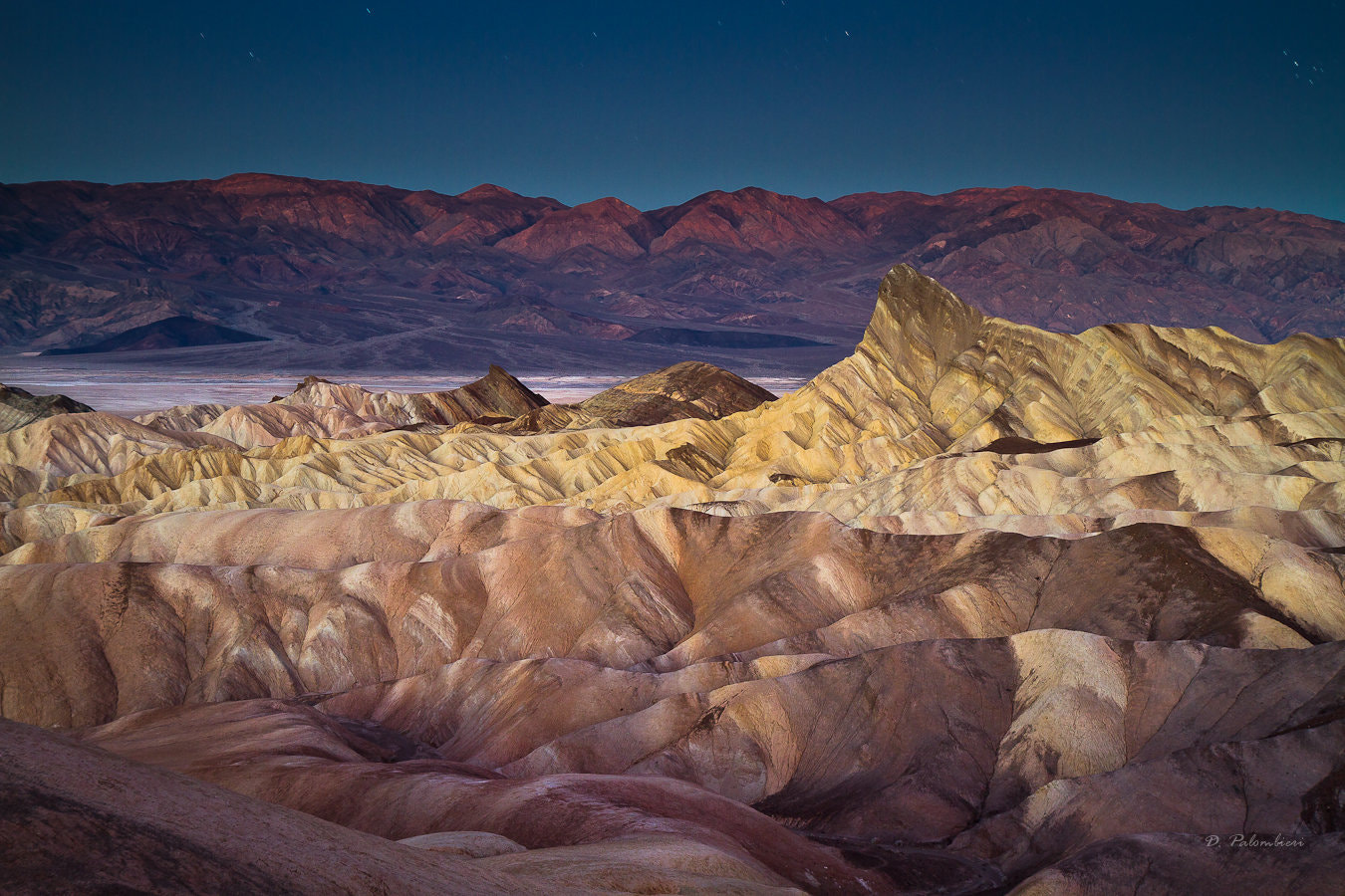 Photograph Zabriskie Point just before sunrise, Death Valley National Park, California by Dominique  Palombieri on 500px
