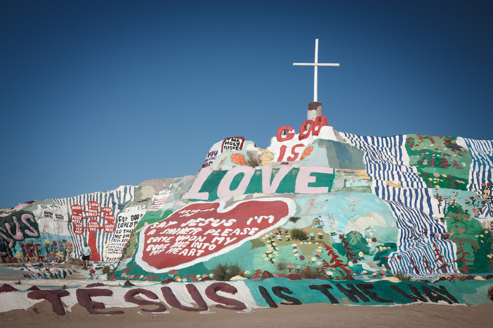 Photograph salvation mountain by Thomas  McCann on 500px