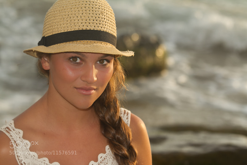 Photograph Natalie at the Beach 2 by Jeremy Hearne on 500px
