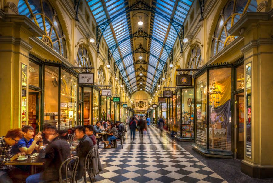 The Royal arcade, Melbourne, Australia by Will Faulkner on 500px.com