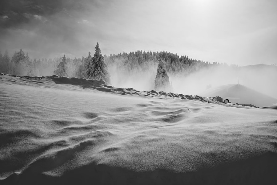 Photograph Snow in alps by Franck Chevallereau on 500px