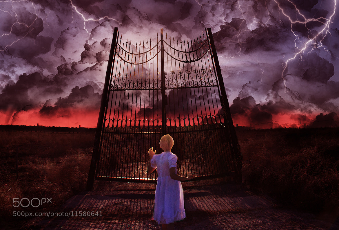 Photograph Door to Hell by Magali Agnello on 500px