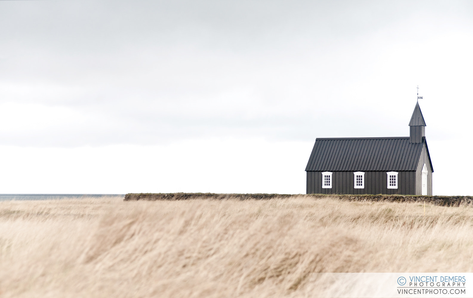 Photograph Old small black church in Búdir, Iceland  by Vincent Demers on 500px
