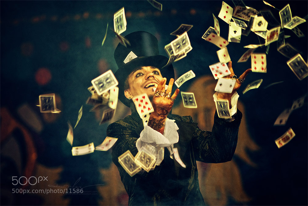 Photograph circus illusionist by Evgeny  Yaryshev on 500px