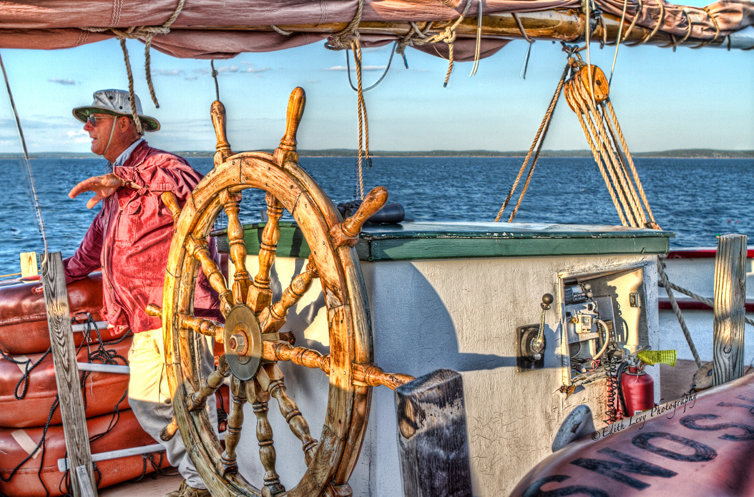 Photograph The Skipper by Edith Levy on 500px