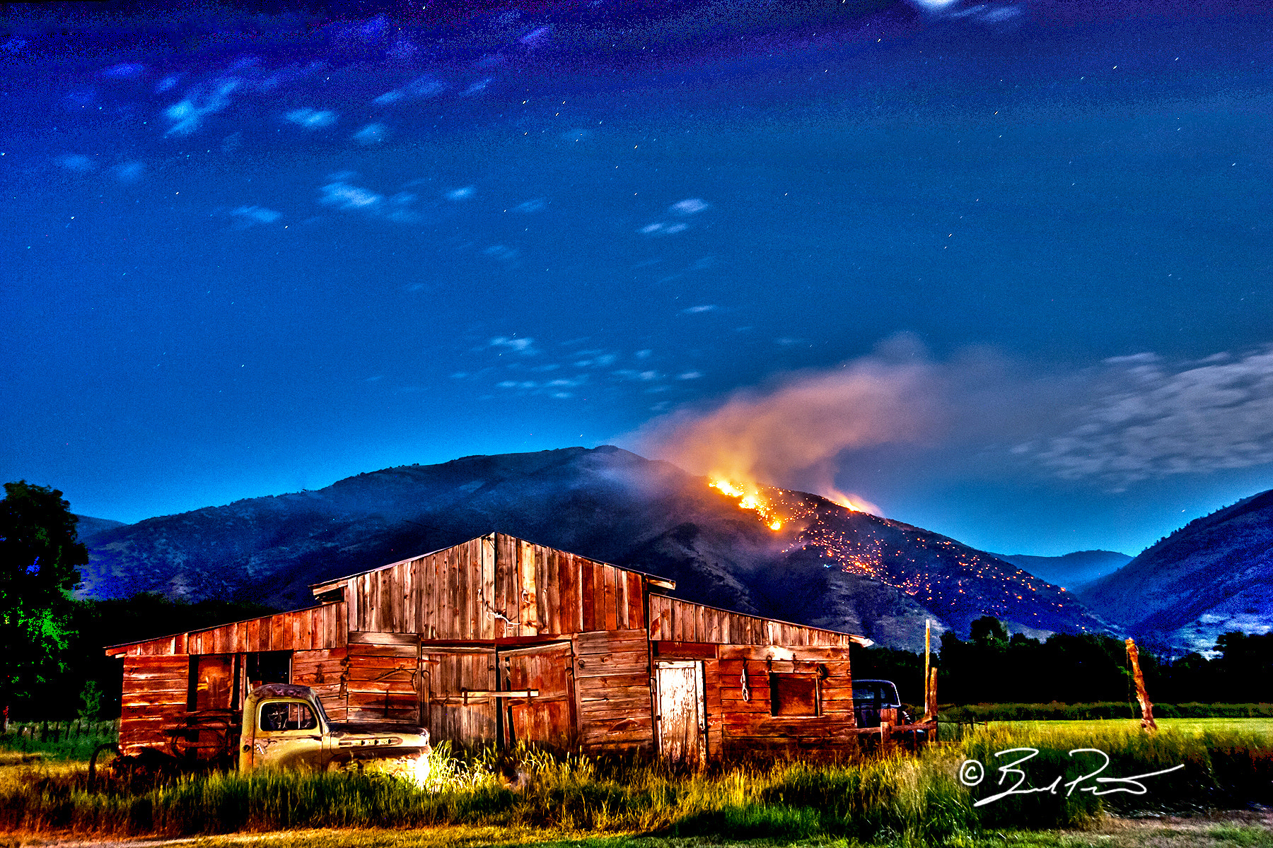 Photograph heat of night by Brad Peterson on 500px