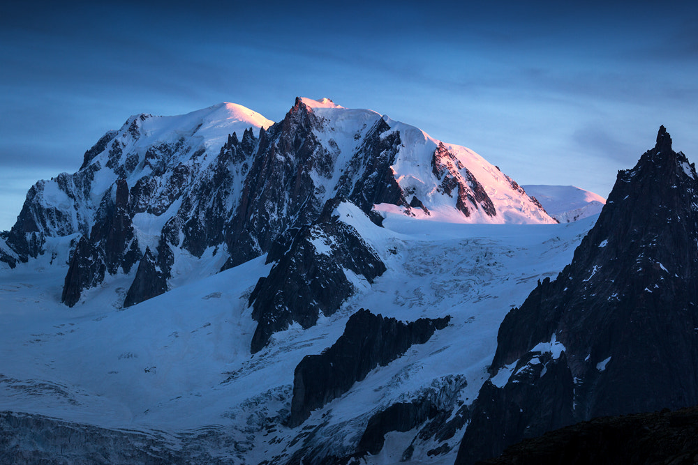 """Photograph Sunset on """"Mont-Blanc"""" by Sebastien Papon on 500px"""