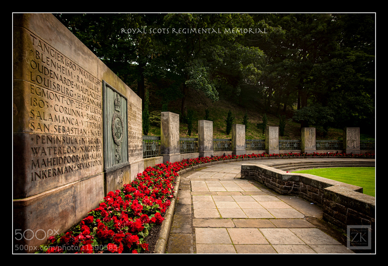 Photograph Royal Scots Regimental Memorial by Zain Kapasi on 500px