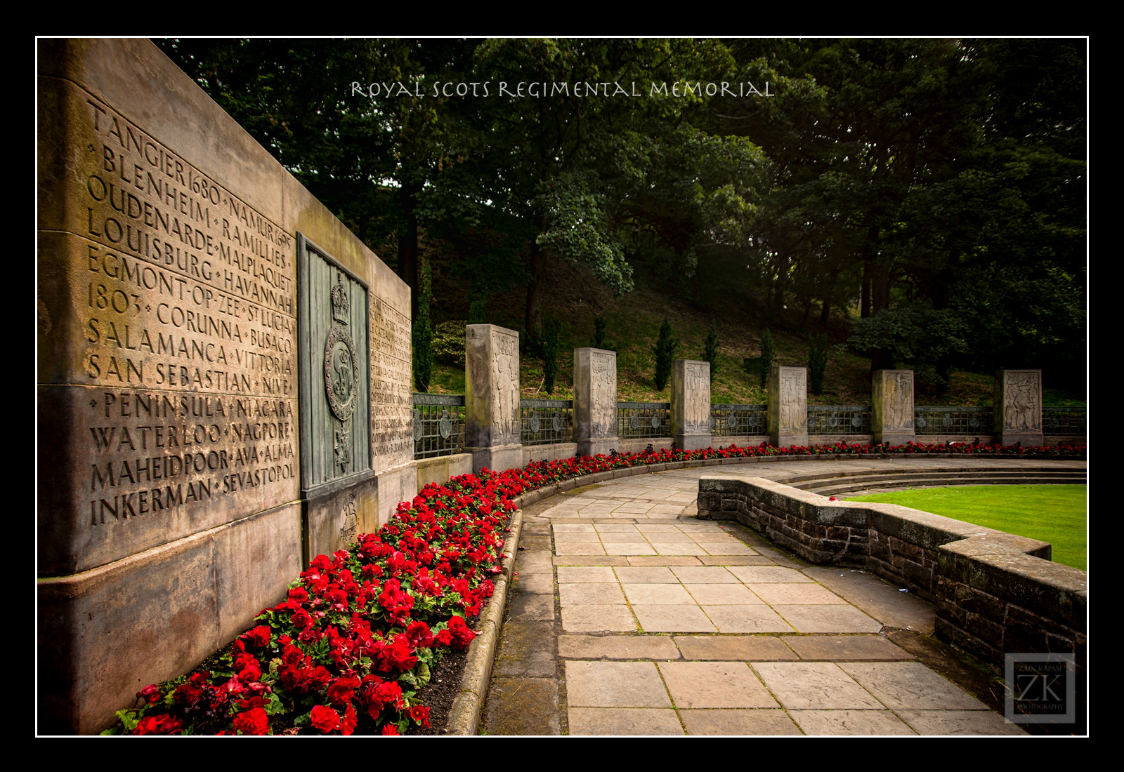 Photograph Royal Scots Regimental Memorial by Zain Kapasi on 500px