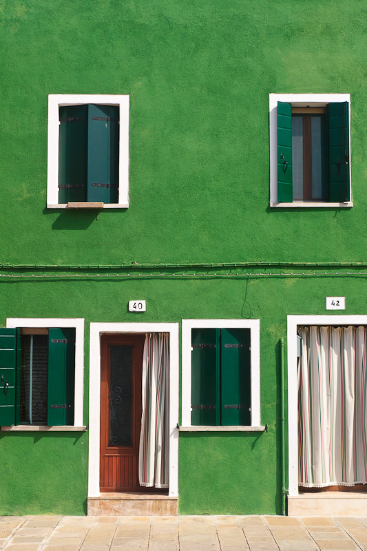 Photograph Burano green by  DECK on 500px