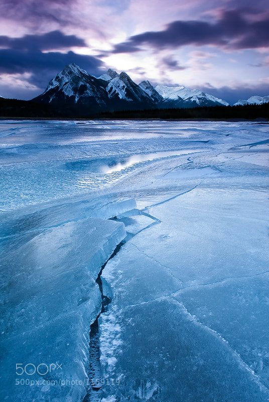 Photograph Ice Cracks by Mike Isaak on 500px