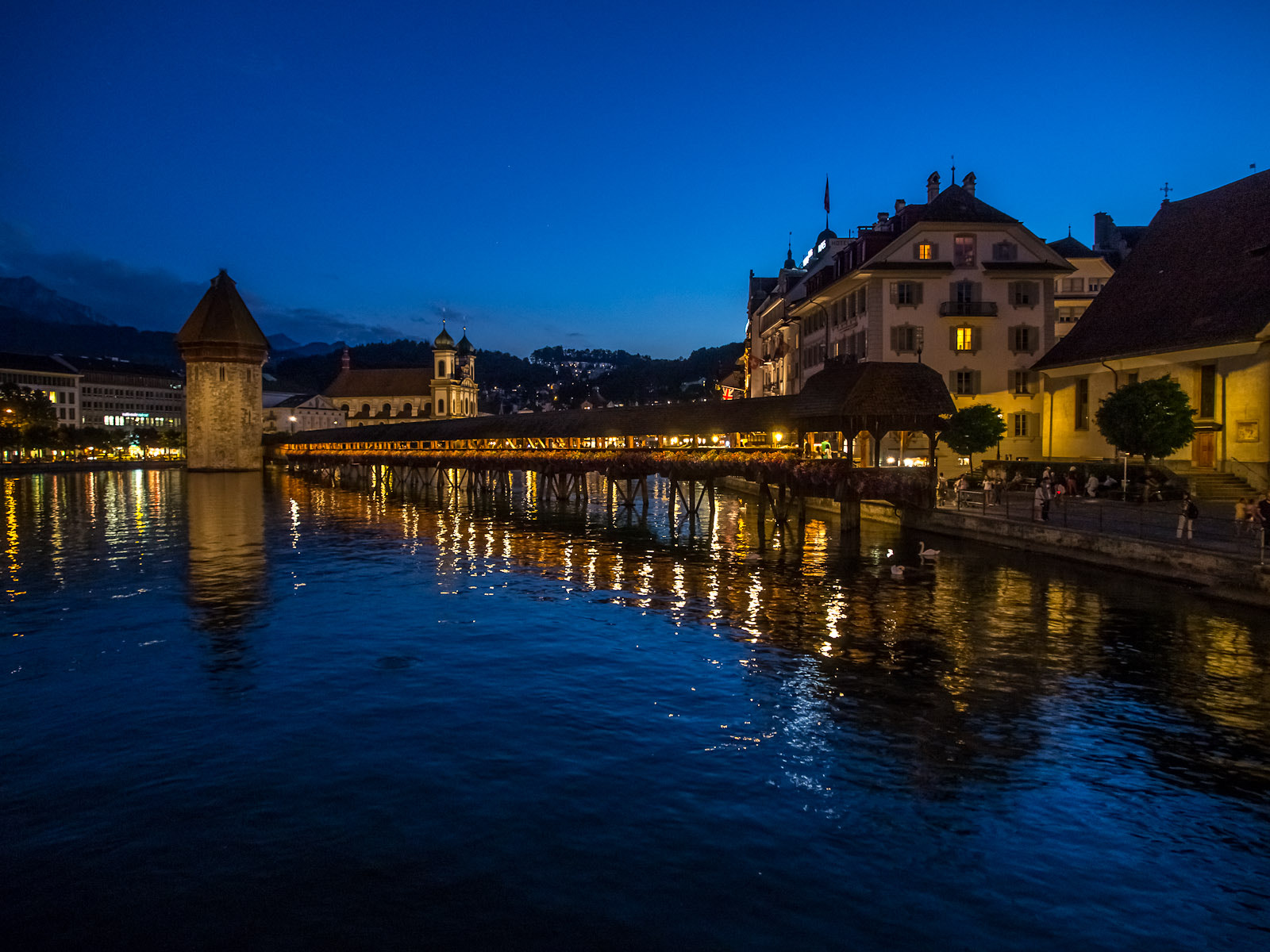 Photograph Lucerne by night by Martin Weibel on 500px
