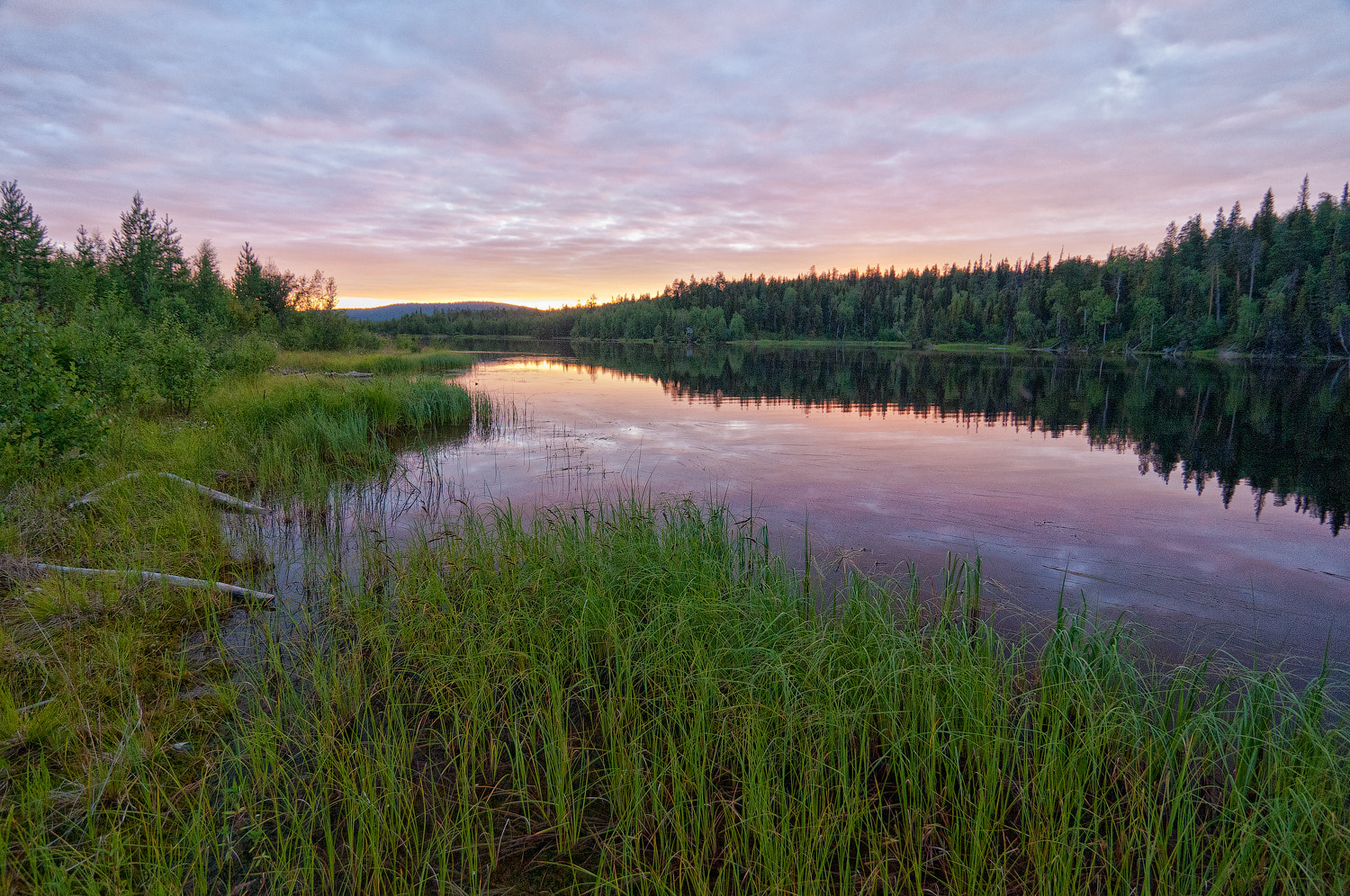 Photograph Karelian sunset by Alexei Zaripov on 500px
