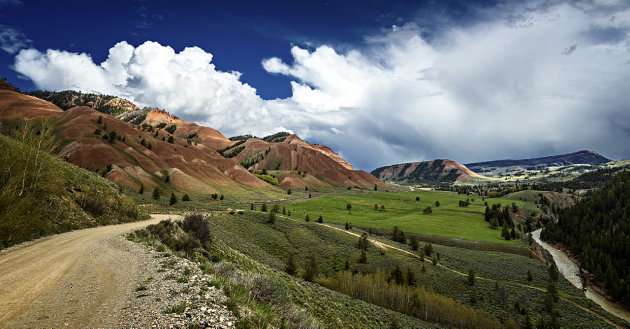 Red Hills of the Gros Ventre Wilderness by Matthew Brucker on 500px.com