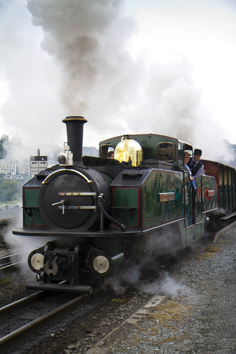 Photograph Porthmadog Steam Train. by Sam Spilsbury on 500px